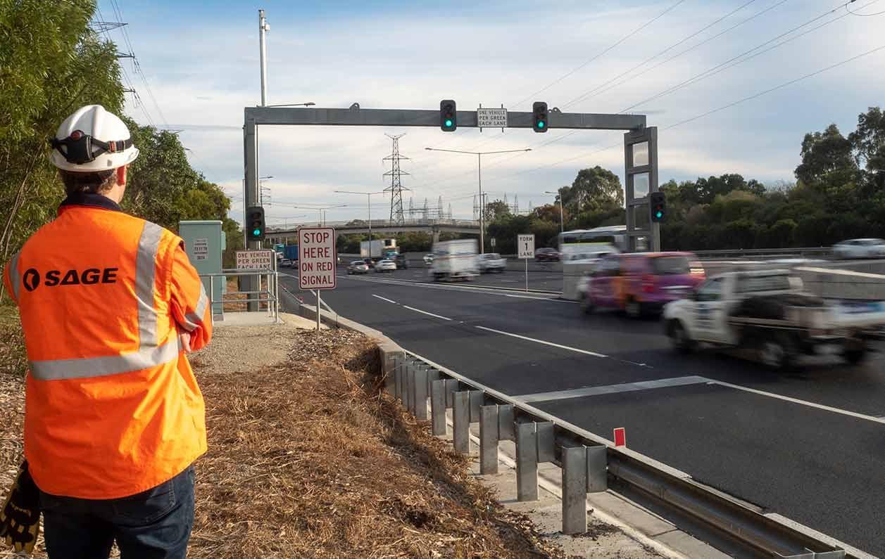 Monash Freeway Intelligent transport System