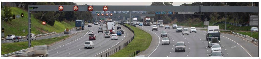 Monash Freeway's intelligent transport system