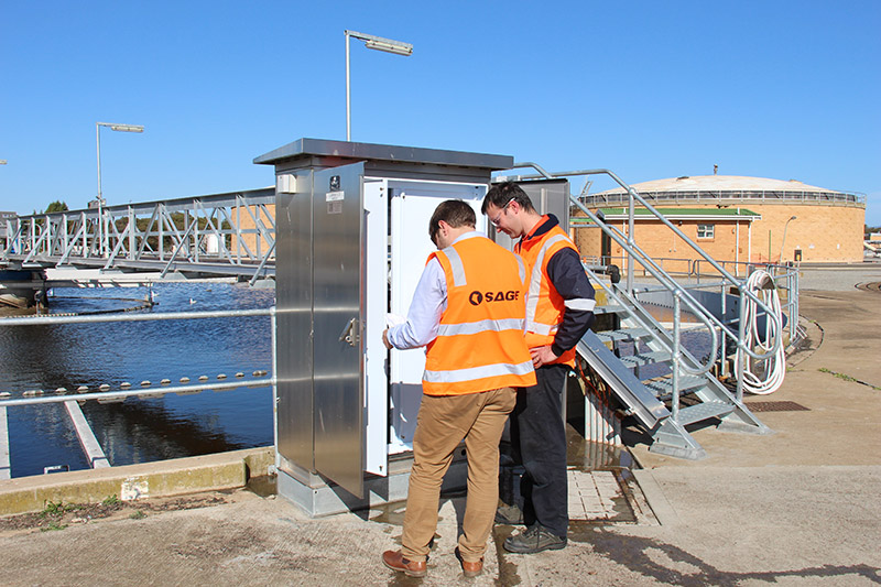 Upgrading Control System Wastewater
