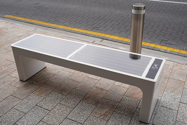 Smart Bench Solar