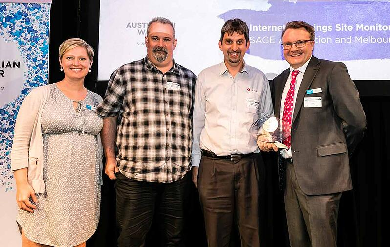 Internet of things monitoring solution wins Water Award