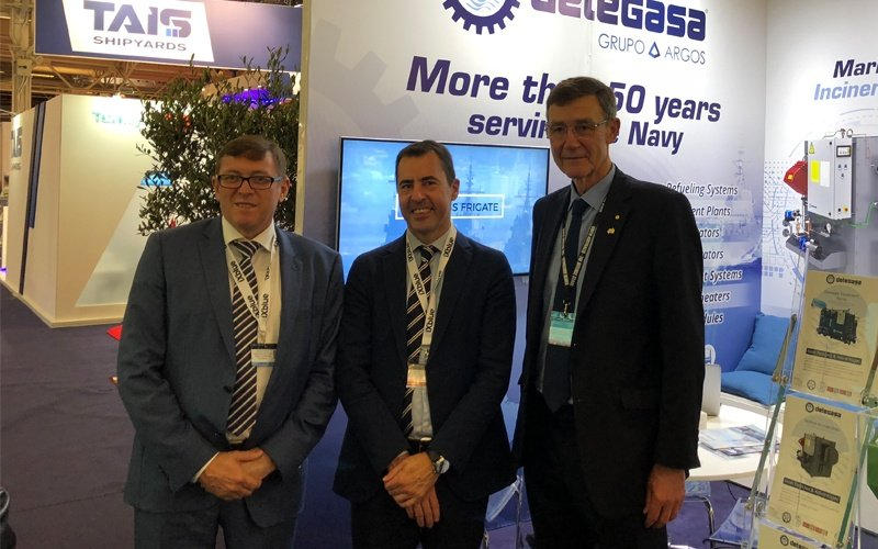 SAGE Automation in the spotlight at Euronaval, after signing