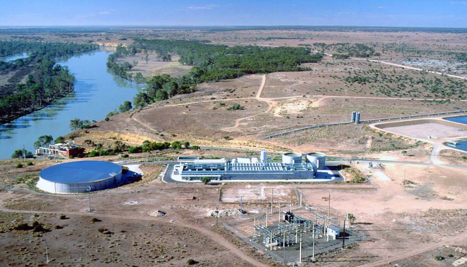 Swan-Reach-water-treatment-plant