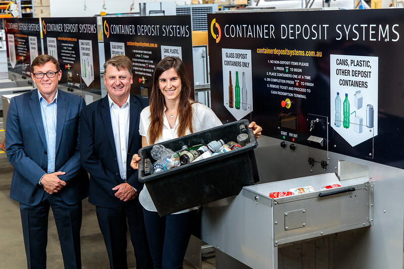 Waron Waste with smart recycling machines