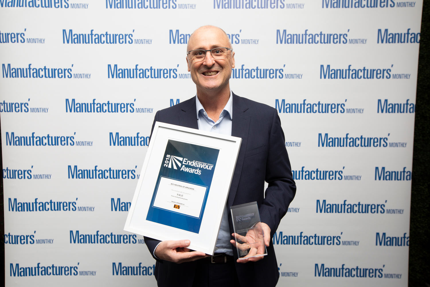 Automatic counting and sorting solution wins industrial IoT application award