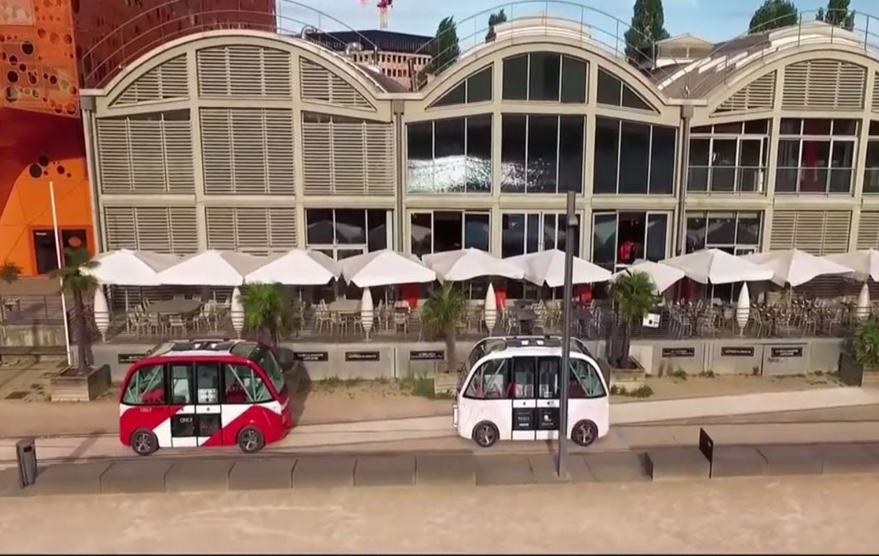 Driverless car animation -Tonsley promotional video - Home page feature