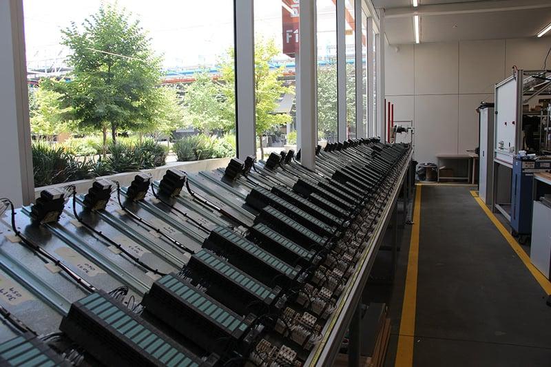 FAT testing of IPMS control panels