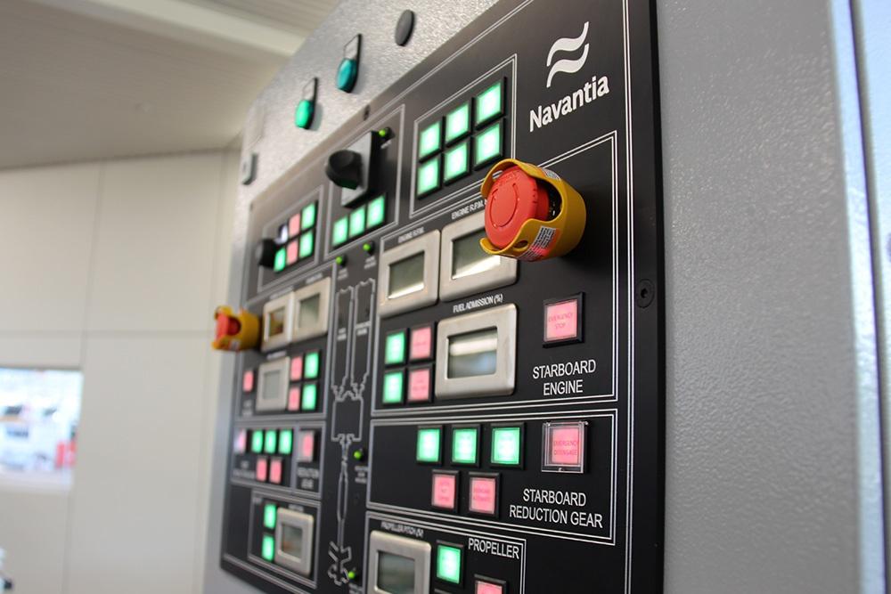 IPMS Deisel Control Panel HMI
