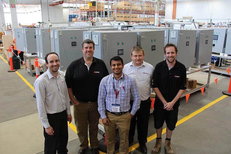 Navantia Australia IPMS Field Engineer-Liju Muttath-Troy Hemmerling-Jarrad Cranston-Nick Kobets-David Hobbs