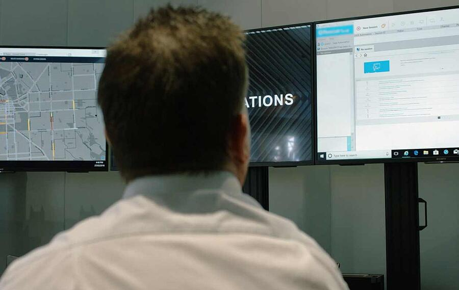 National Operations Centre for real-time monitoring