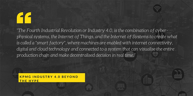 Industry 4.0 quote-web