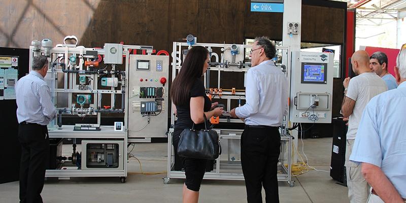 SAGE Training Platforms on display at TMI launch