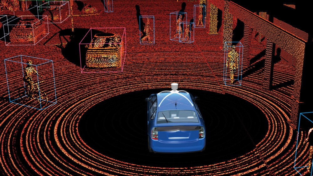Lidar technology - credit News.voyage.auto