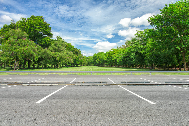 green space in a smart transport future