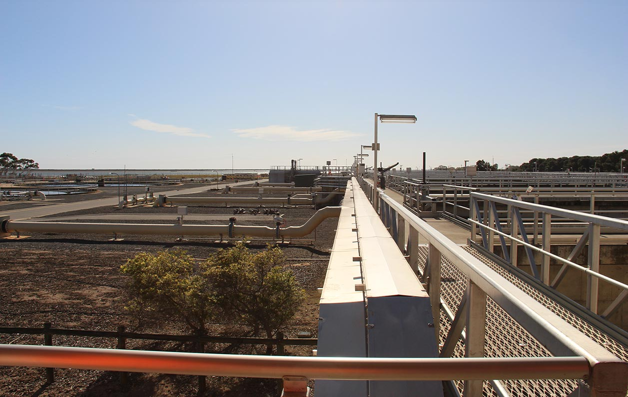 Bolivar implements new technology to improve Adelaide's wastewatertreatment quality
