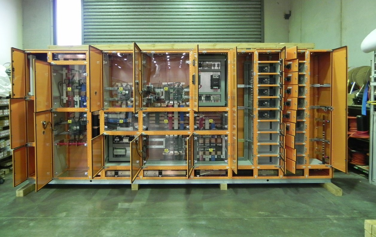 SAGE manufactures main switchboards for major infrastructure