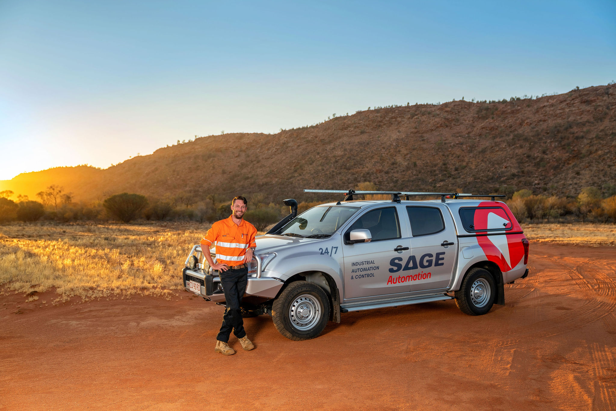 SAGE Automation Alice Springs control system support