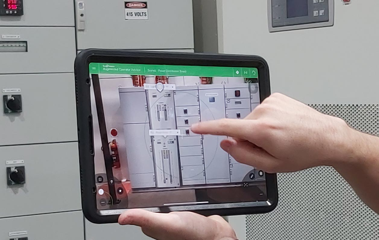 SAGE the first Australian SI to implement Schneider augmented reality tool
