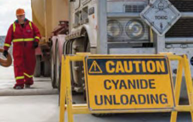 Meeting Safety Standards in Cyanide Management – A Case Study